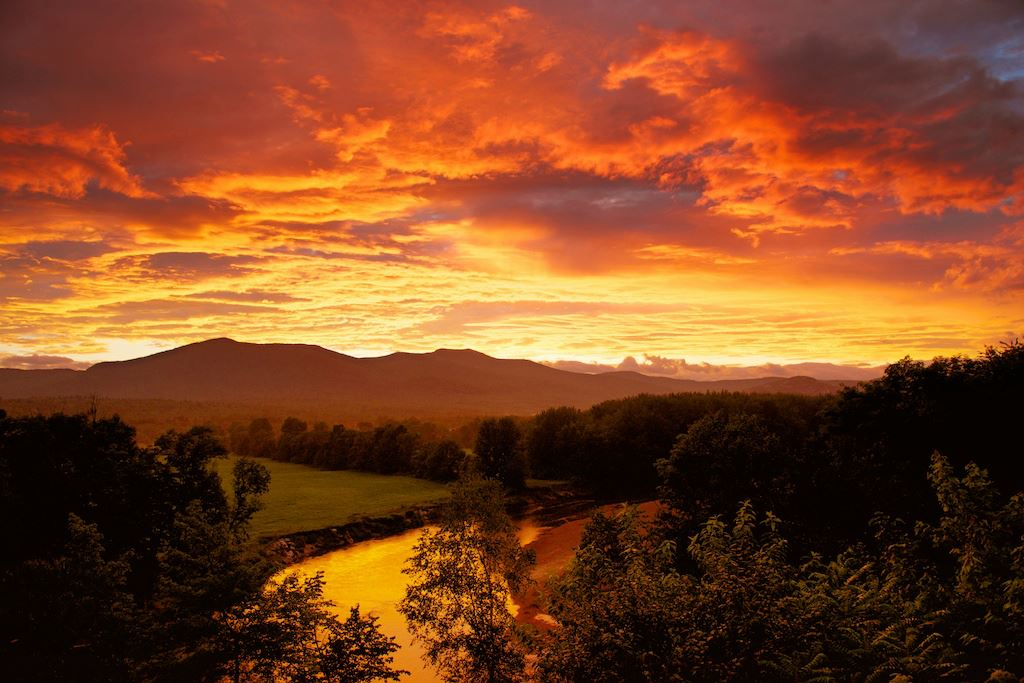 Honeymoon Packages Beautiful Sunset White Mountains NH