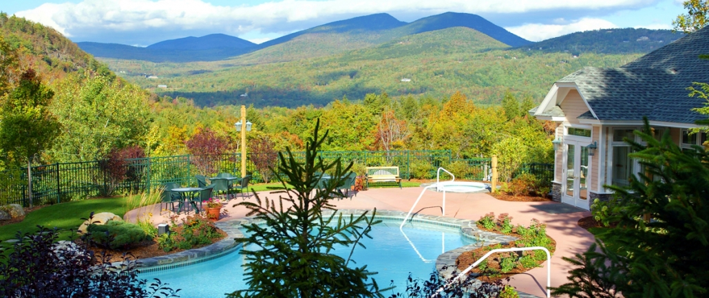 Fitness Center Outdoor Pool and View